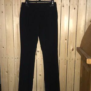 Candies Pinstripe Pants 3 Black Gray
